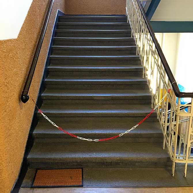 Treppenhaus der Freudenstädter experimenta