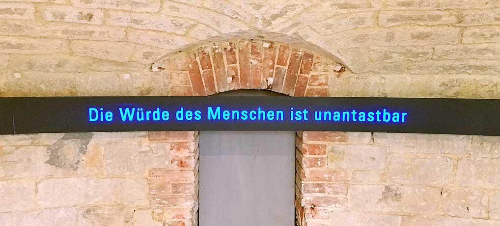 Das KZ Ulm ist heute die Gedenkstätte Oberer Kuhberg und ein Ort voller Geschichte.