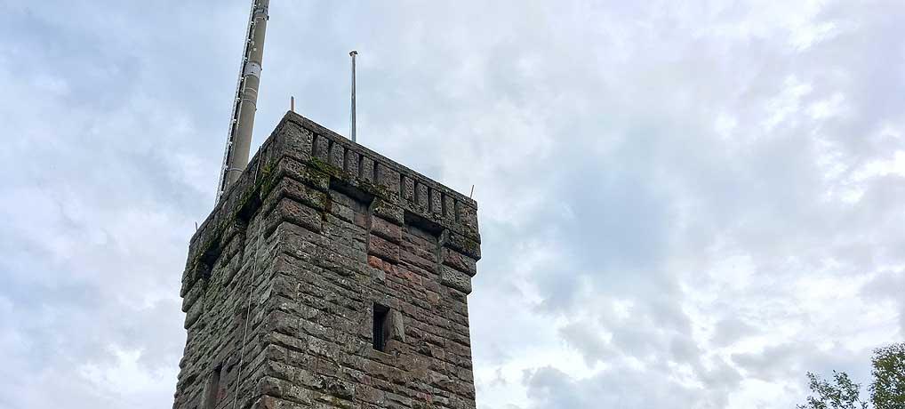 Der Rinkenturm in Baiersbronn in Schwarzwald ist ein beliebtes Ausflugsziel