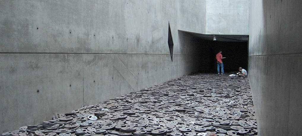 Das Jüdisches Museum in Berlin ist einer der wichtigsten Sehenswürdigkeiten in der Hauptstadt