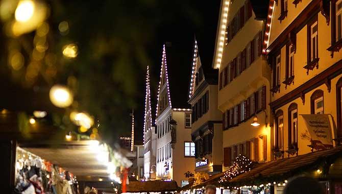 Hüttendorf Christkindlesmarkt Biberach