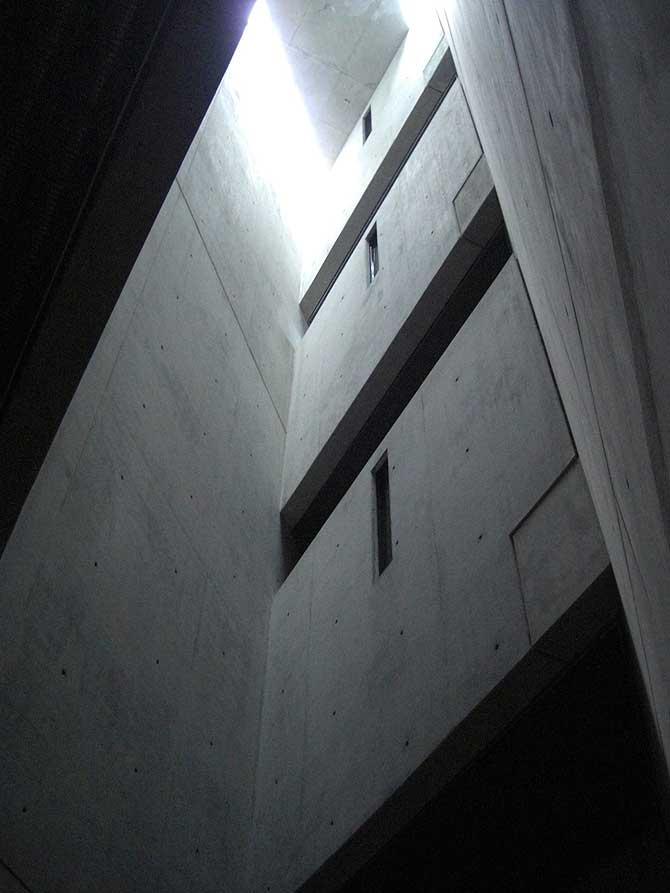 Holoucaust Turm im Jüdischen Museum