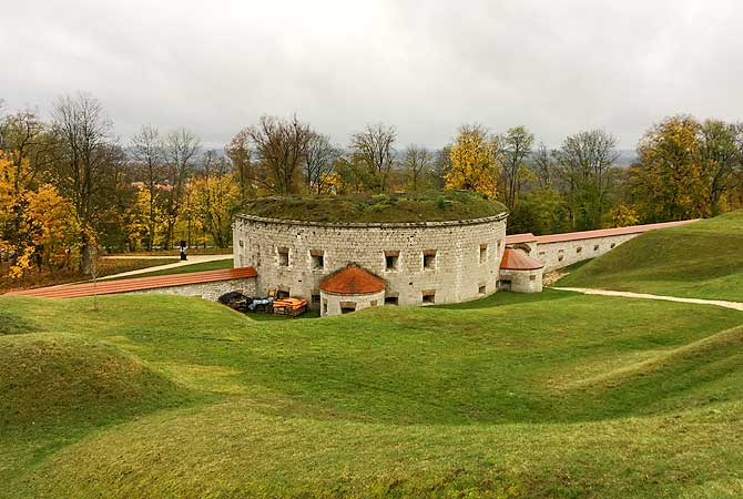 Reduit Gebäude des KZ Ulm