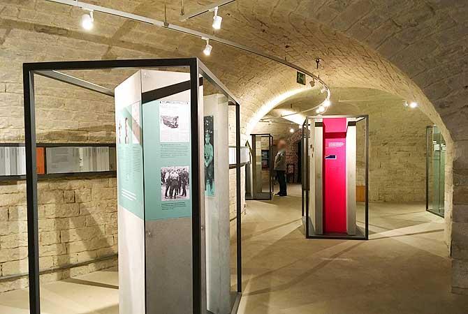Ausstellung im KZ Museum