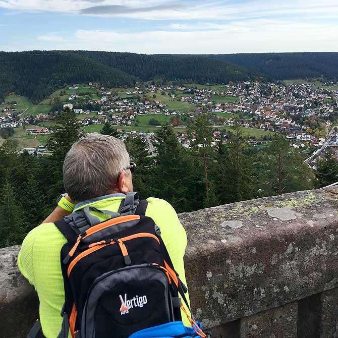 Ausblick auf Baiersbronn