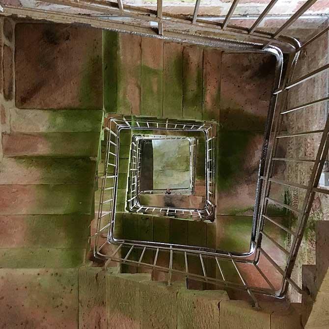 Treppen und Stufen im Rinkenturm
