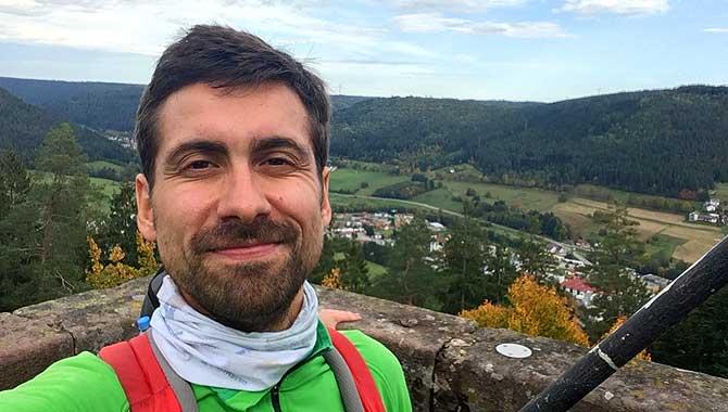 Ich auf dem Rinkenturm bei Baiersbronn im Schwarzwald