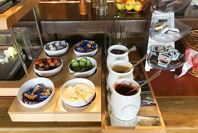 Frühstück mit Karwendelblick