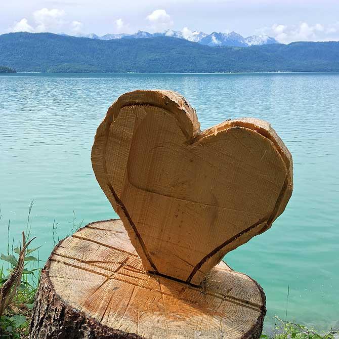 Herz am Walchensee verloren
