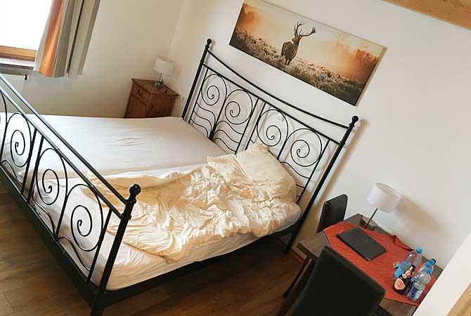 Zimmer im Hotel Karwendelblick in Urfeld