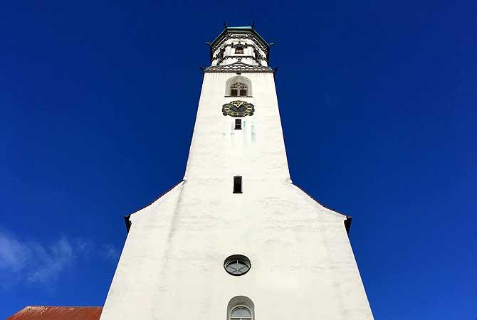 Kirchturm Sankt Johann Memmingen