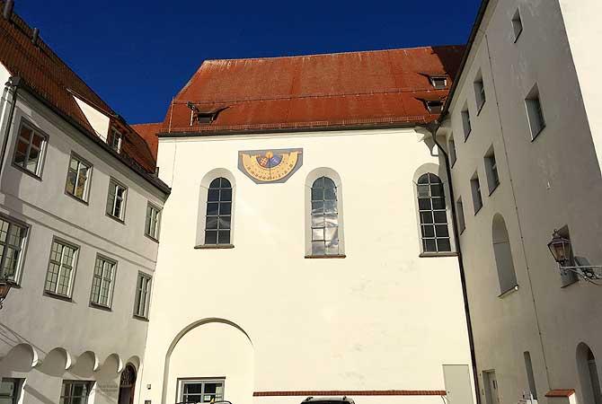 Das ehemalige Kloster von St. Johann