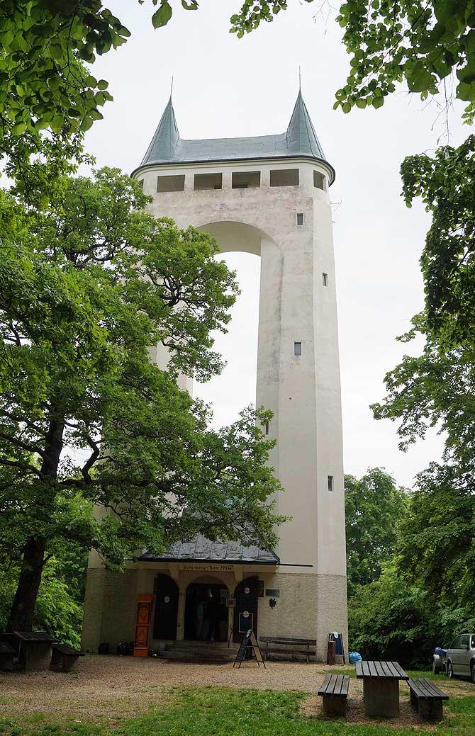 Deshalb heißt der Schönbergturm auch Pfullinger Onderhos