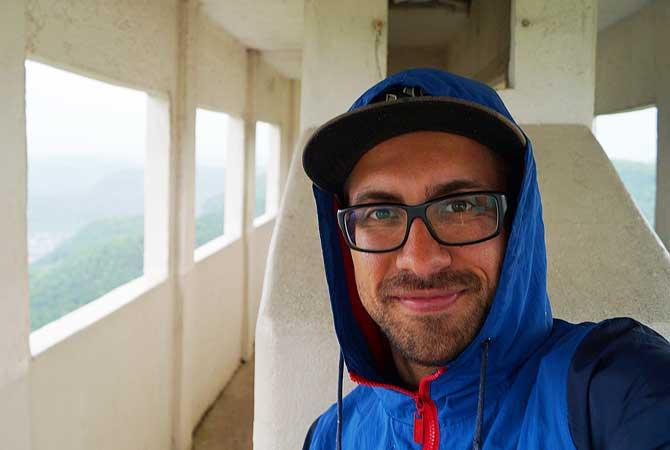 Ich auf dem Pfullinger Schönbergturm