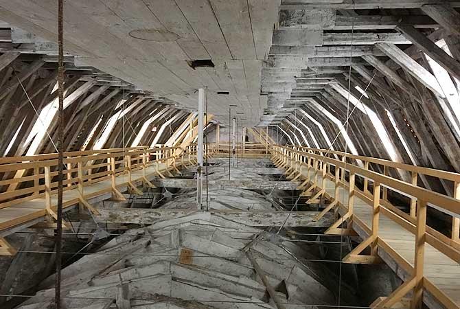 Dachstuhl St. Martin in Memmingen