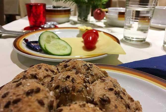 Frühstück im Hotel Quellenhof Bad Urach