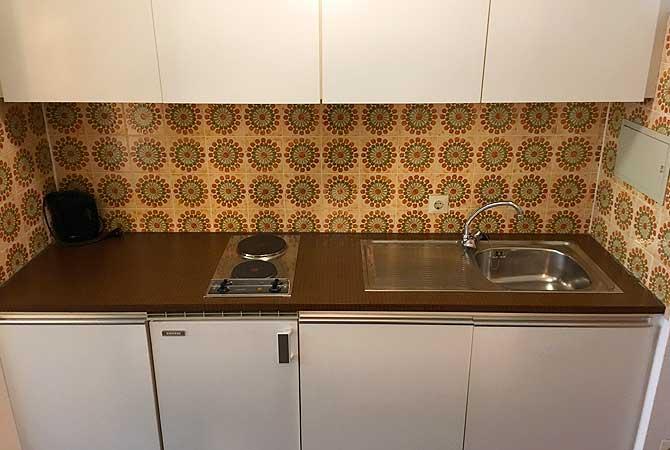 Apartment oder Ferienwohnung mit Küchenzeile
