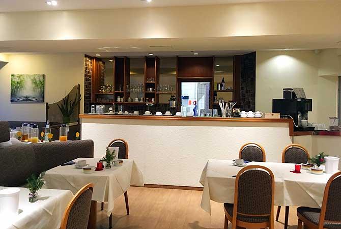 Speisesaal im Hotel Quellenhof