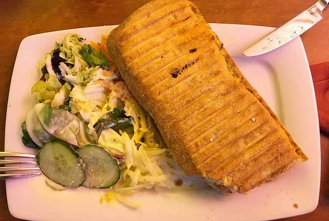 Panini in der Albthermen-Gastronomie