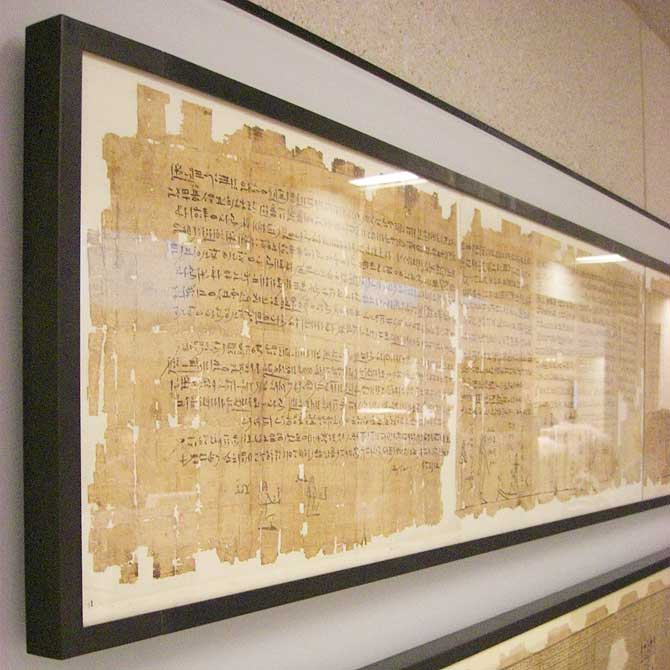 Papyrus-Rolle