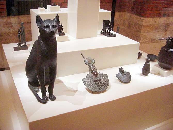 Katzen waren damals heilig