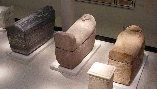 Sarkophag von damals