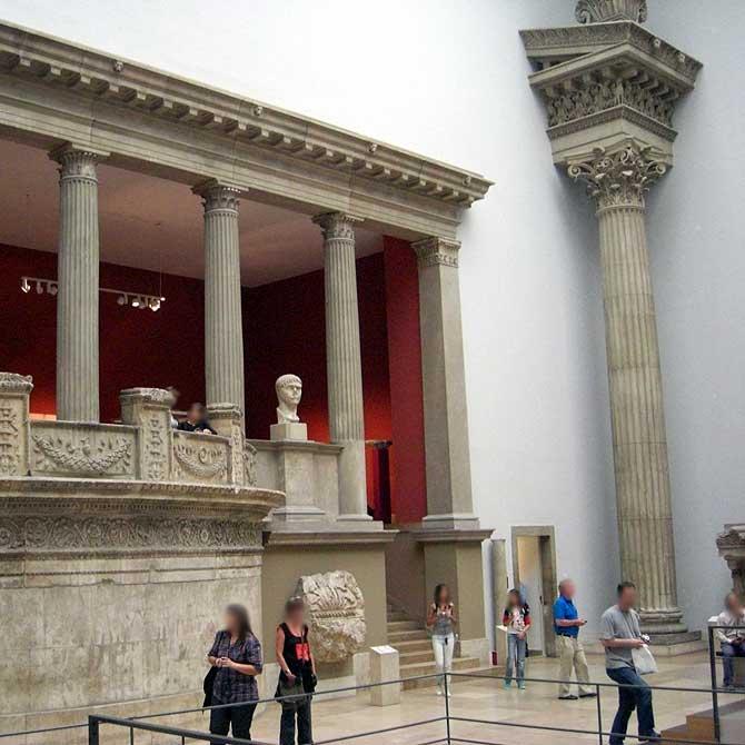 Säulenhalle Pergamon Museum