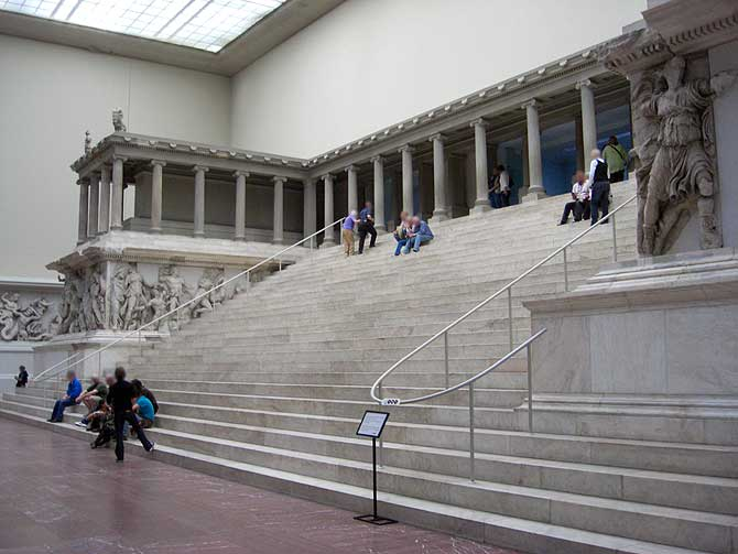 Pergamon Altar im Museum