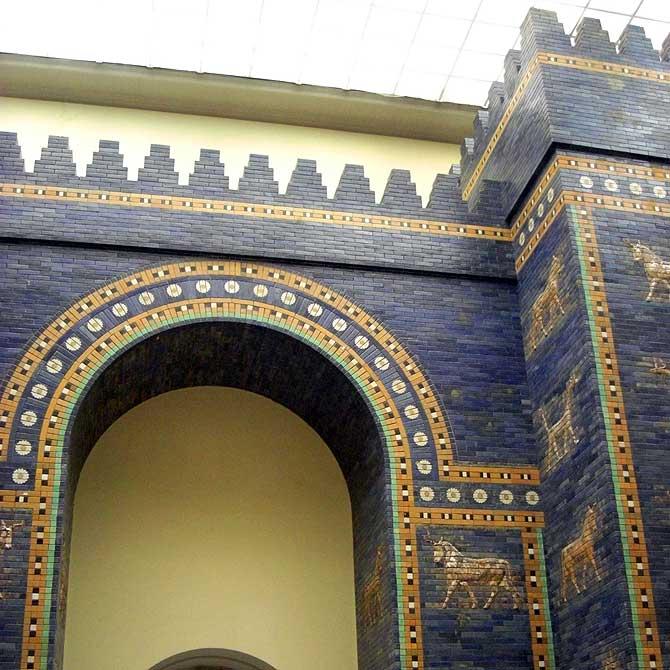 Ischtar Tor im Pergamonmuseum