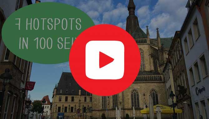 Video 7 Hotspots in Osnabrück