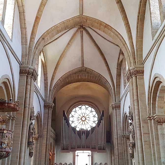 Rosette im Osnabrücker Dom