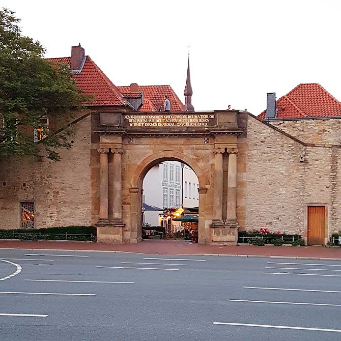 Eine der ältesten Sehenswürdigkeiten in Osnabrück