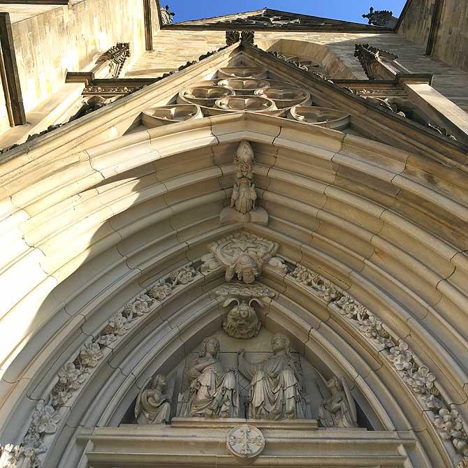Eingang zur Marienkirche