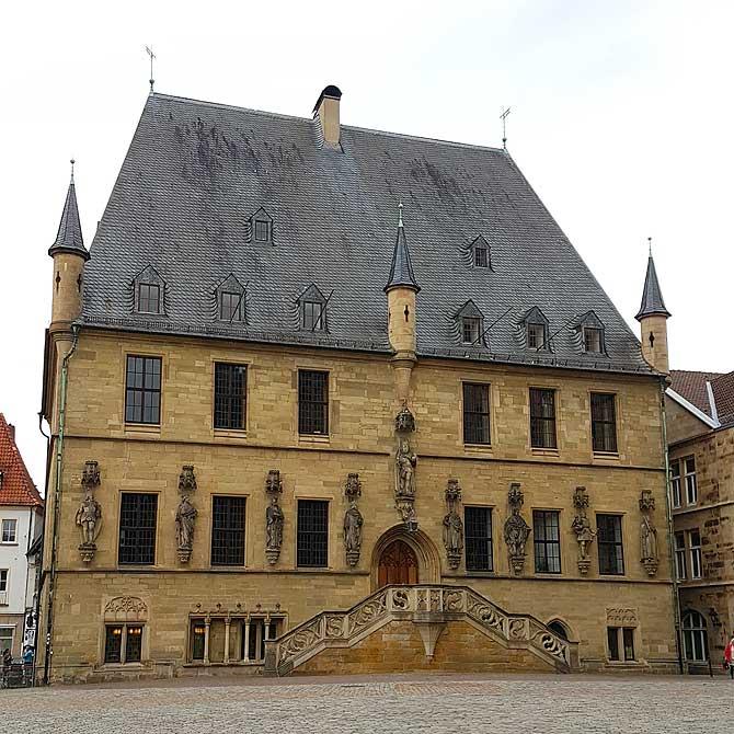 Rathaus des Westfälischen Friedens Osnabrück