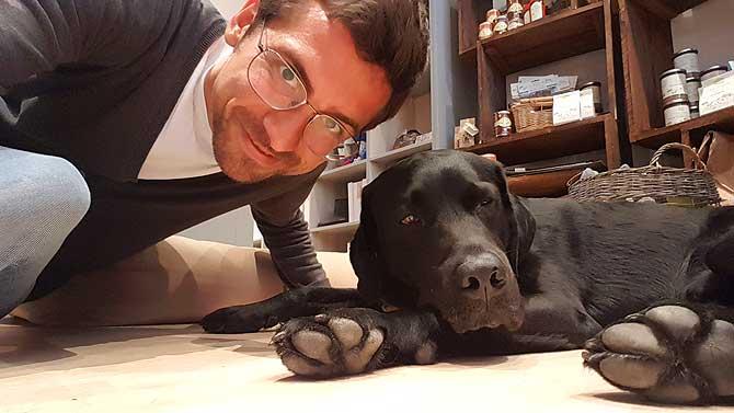 Ich und Bruno bei Bruno and Friends in Osnabrück