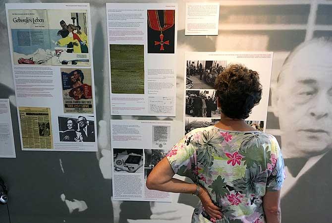 Ausstellung im Remarque Friedenszentrum