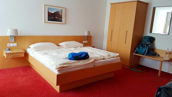 Zimmer im Hotel Meyer