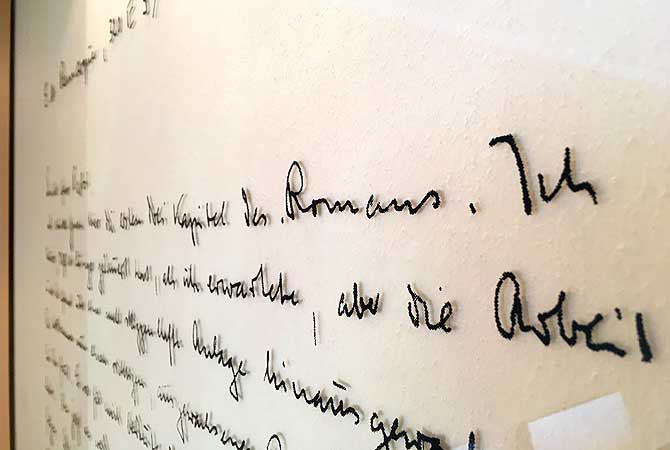 Es lebe die Handschrift