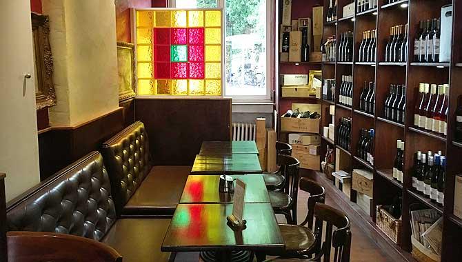Il Paradiso Osnabrück innen Wein