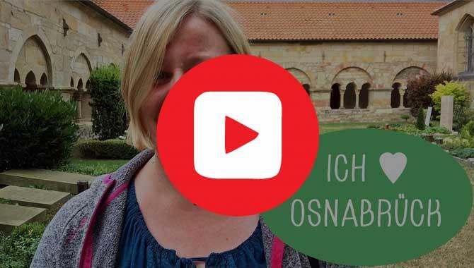 Video Stadtführung mit Daniela zu vielen Sehenswürdigkeiten in Osnabrück