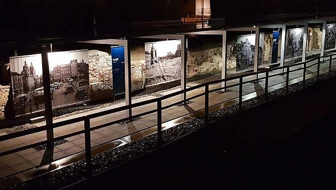 Ausstellung im Freien