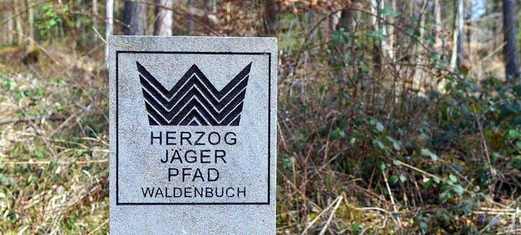 Der Herzog Jäger Pfad bei Waldenbuch ist eine schöne Wanderung vor den Toren Stuttgarts
