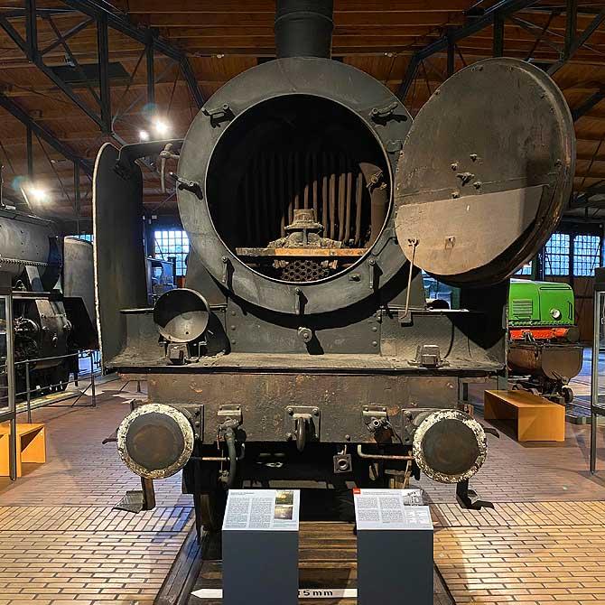 Lokomotive im Deutschen Technikmuseum