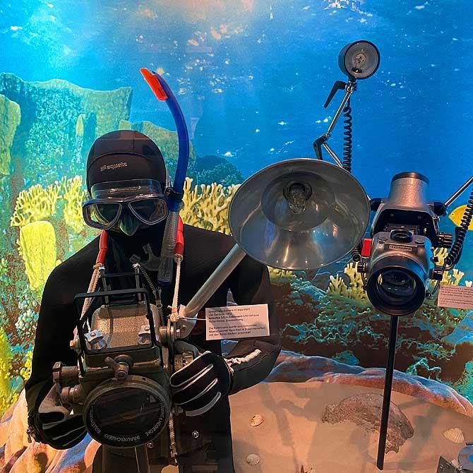 Alte Unterwasserkamera