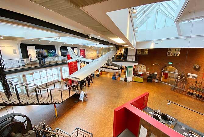 Eingang Deutsches Technikmuseum Berlin
