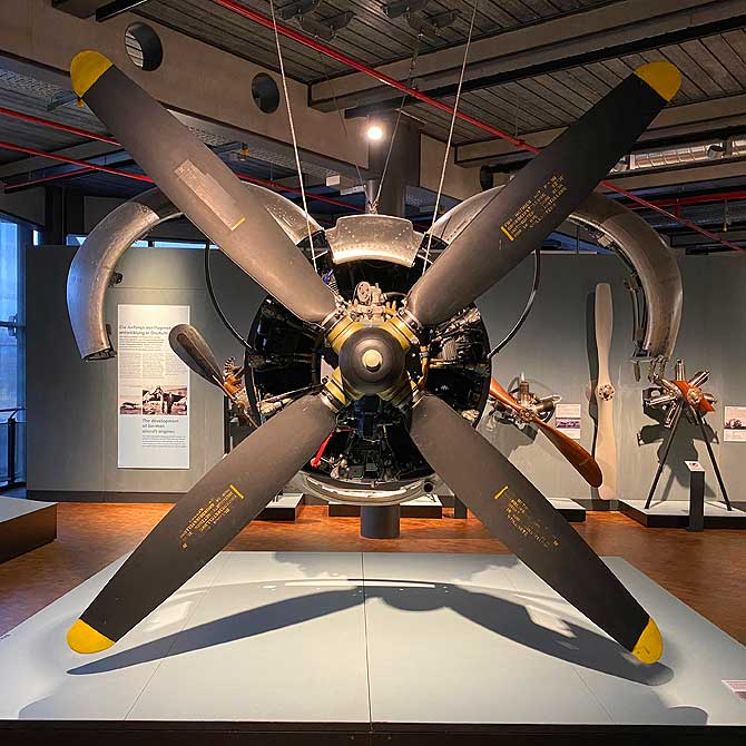 Riesiger Propeller