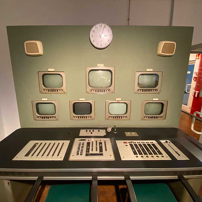 TV-Leinwand