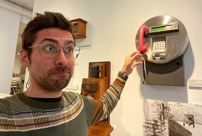 Ich und das Deutsche Technikmuseum Berlin