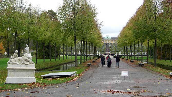 Park von Schloss Sanssouci
