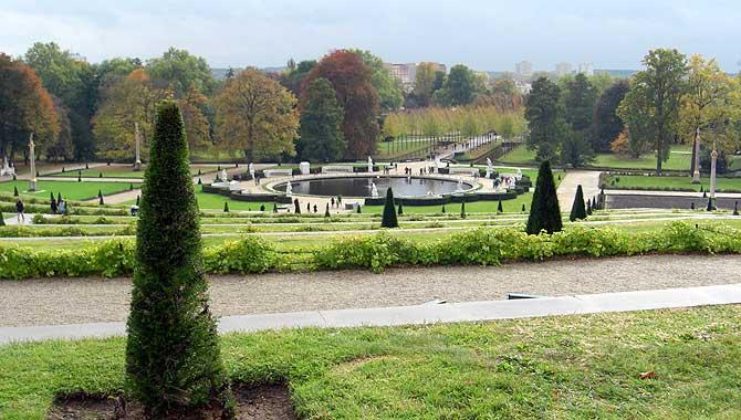 Weinbergterassen von Schloss Sanssouci